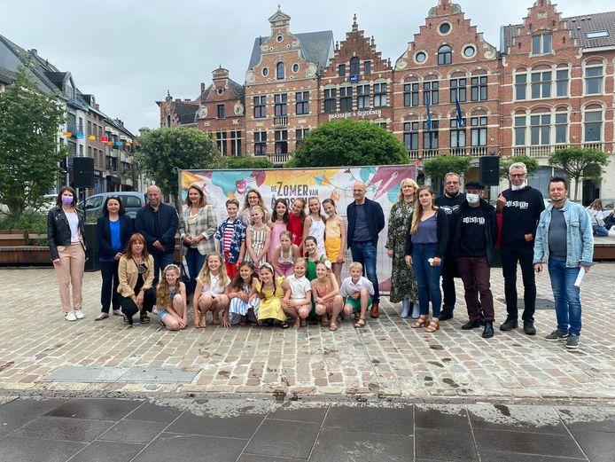 Stad Aarschot stelt het indrukwekkende programma van de zomer van Aarschot voor.