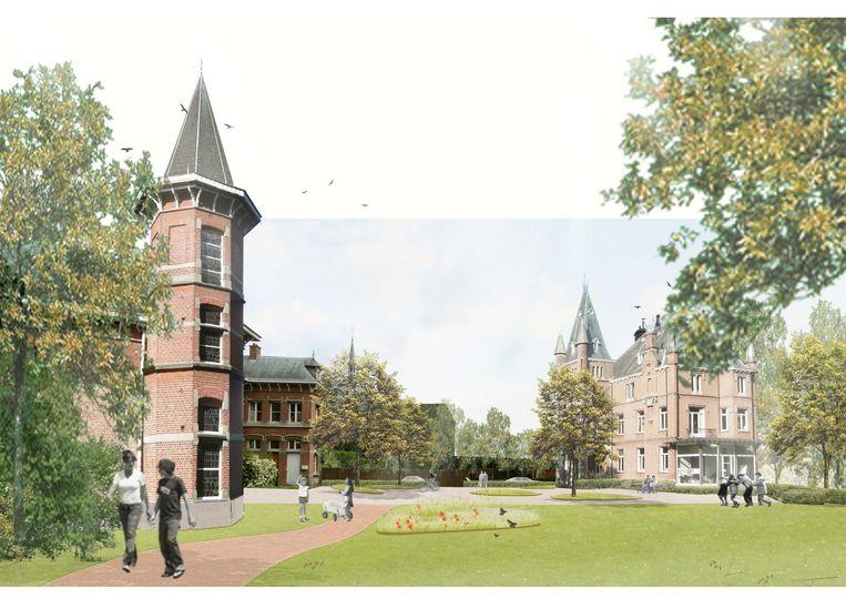 Een blik op het toekomstige Heulepark.