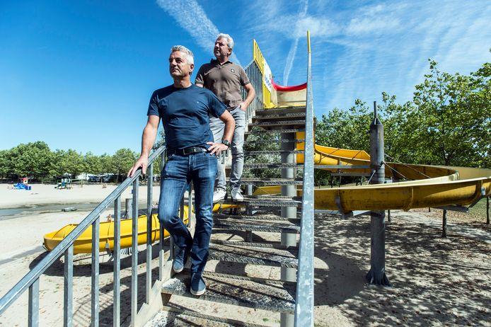 Chris en Hans Gommers zijn de eigenaren van de kurenpolder. Het vakantiepark beleeft door corona het vreemdste seizoen ooit.