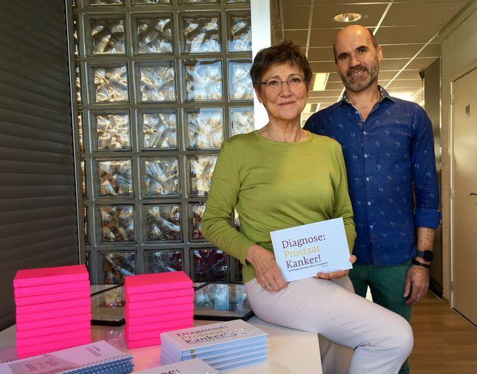 Jan Gevers en Mimi Van Meir stellen hun boek 'Diagnose: Prostaatkanker!' voor