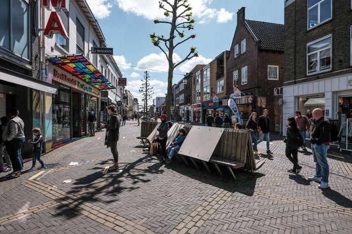 De Hamburgerstraat in Doetinchem. Foto : Jan Ruland van den Brink