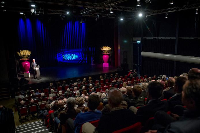 De theaterzaal van 't Mozaïek in Wijchen.