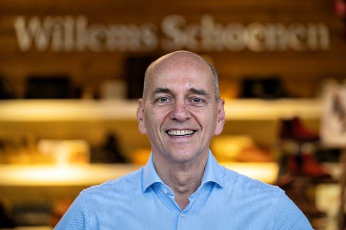 Herman Willems van de gelijknamige schoenenwinkel. ,,Ik ben geboren in Vianen, maar ik zeg altijd liever dat mijn wieg in Den Bosch stond.''
