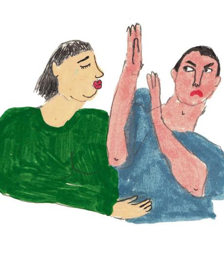 Vanaf het moment dat ik zwanger was, heeft mijn man me niet meer aangeraakt