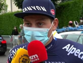 """Van der Poel vandaag niet meer gestart: """"Heel moeilijke beslissing"""""""