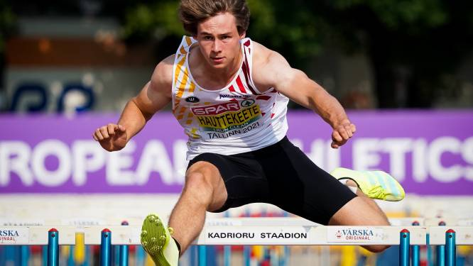 Jente Hauttekeete pakt goud in tienkamp op EK atletiek U20 en stelt eigen Belgisch record scherper
