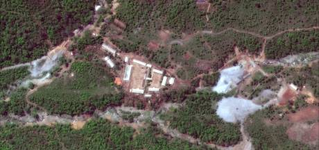 Noord-Koreaanse PR-show op plek waar niemand mag komen