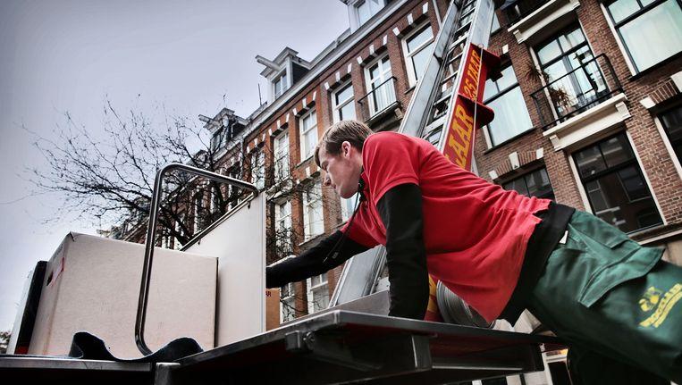 De gemiddelde huurprijs in Amsterdam steeg tot 22,34 euro per vierkante meter per maand. Beeld Jean-Pierre Jans