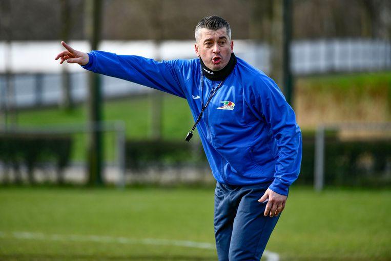Coach Adnan Custovic. Beeld Photo News