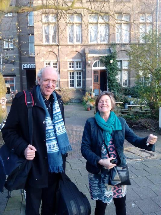 Frans van Keep en Astrid Volckerick.