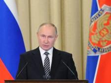"""Poutine accuse l'Occident de vouloir """"enchaîner"""" la Russie"""