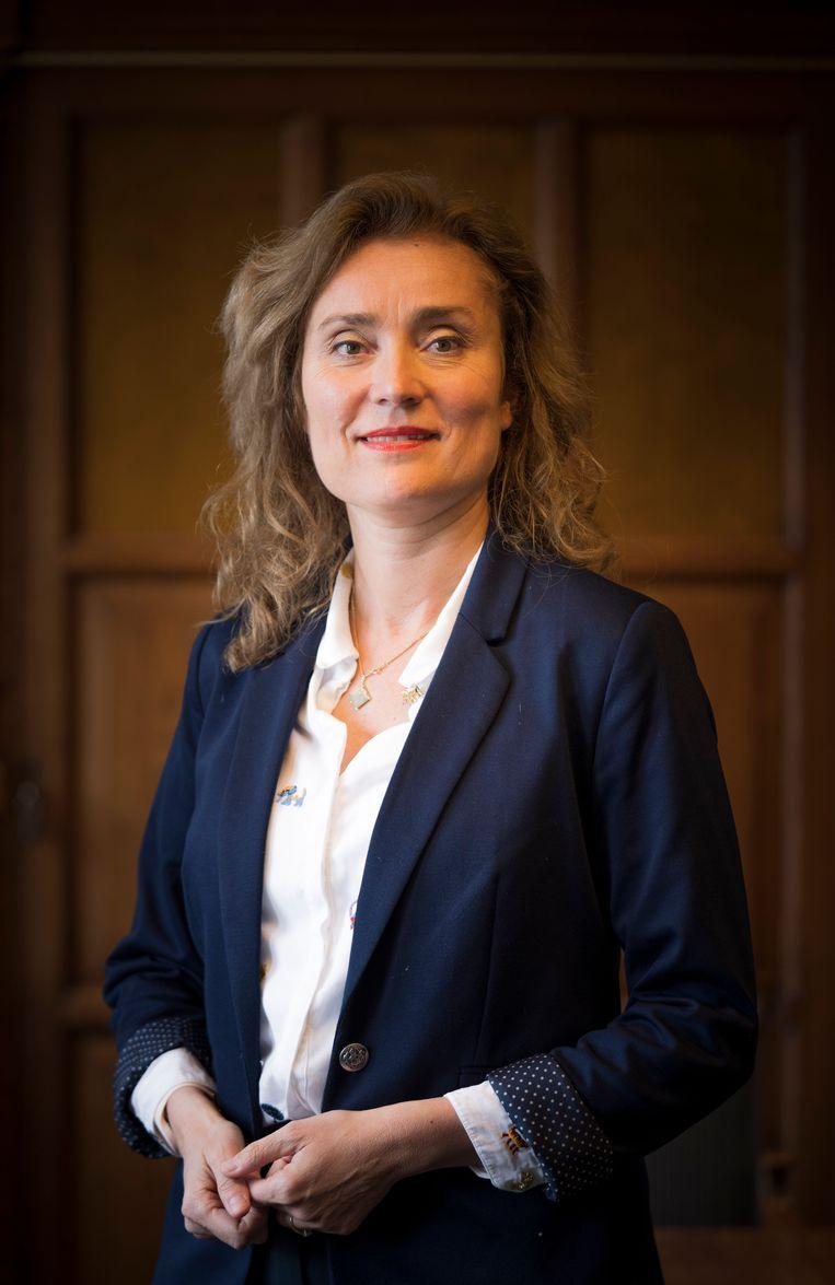Vera Bergkamp Beeld Freek van den Bergh / de Volkskrant
