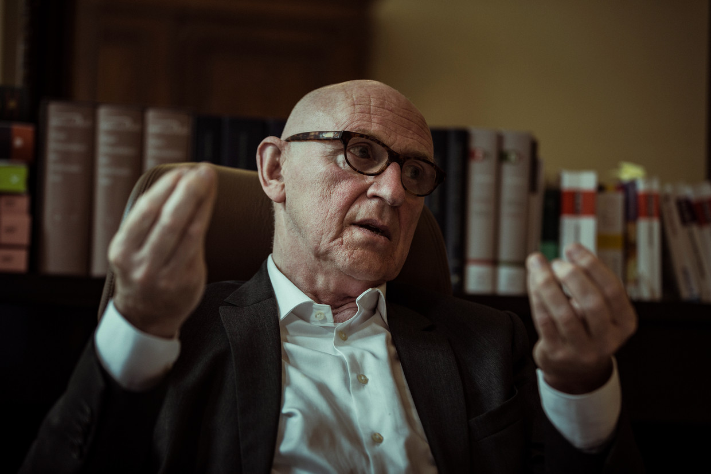 Paul Bekaert: 'Politici zijn wereldvreemd, niet de rechters.' Beeld jef boes