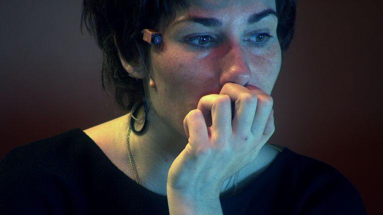 Halina Reijn in Bloot - Een film over acteren. Beeld NPO