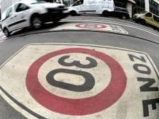 La zone 30 deviendra la norme en Région bruxelloise