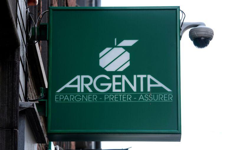 Het logo van Argenta. Beeld Photo News
