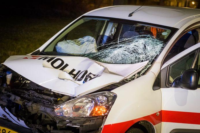 Januari vorig jaar reed een inwoner van Best met zo'n 100 km/u door rood licht op de Ringweg van zijn woonplaats. Hij raakte een overstekende voetganger die zwaargewond raakte.