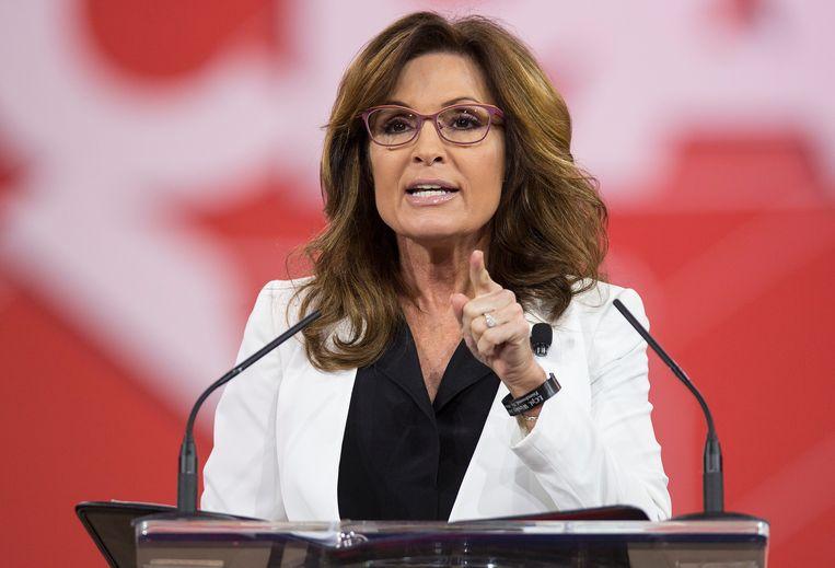Sarah Palin. Beeld REUTERS