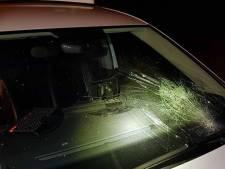 Inbreker vernielt politieauto in Oirschot, ooggetuige met hartinfarct naar ziekenhuis