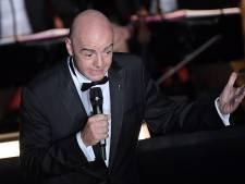 """Le message fort du président de la FIFA: """"Le racisme n'est plus acceptable"""""""