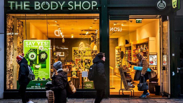 De Body Shop in Amsterdam. Beeld Aurélie Geurts