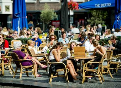 Rondje op Rotterdamse terrassen fors duurder