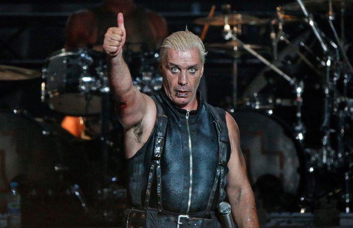 Rammstein-frontman Till Lindemann