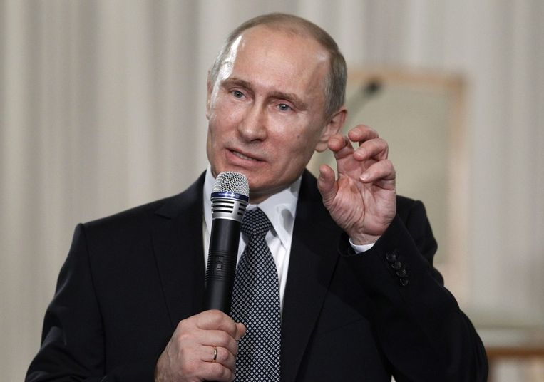 Poetin Beeld afp