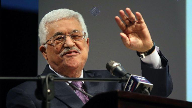 De Palestijnse president Mahmoud Abbas. Beeld PHOTO_NEWS