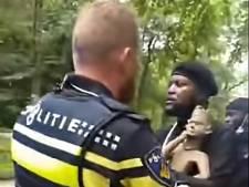 Activisten stelen houten grafbeeld uit Afrika Museum, personeel grijpt niet in maar wacht op politie