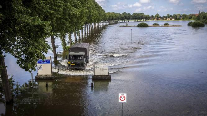 Piek Maaswater verlaat Limburg, vanaf morgen zakt het water overál