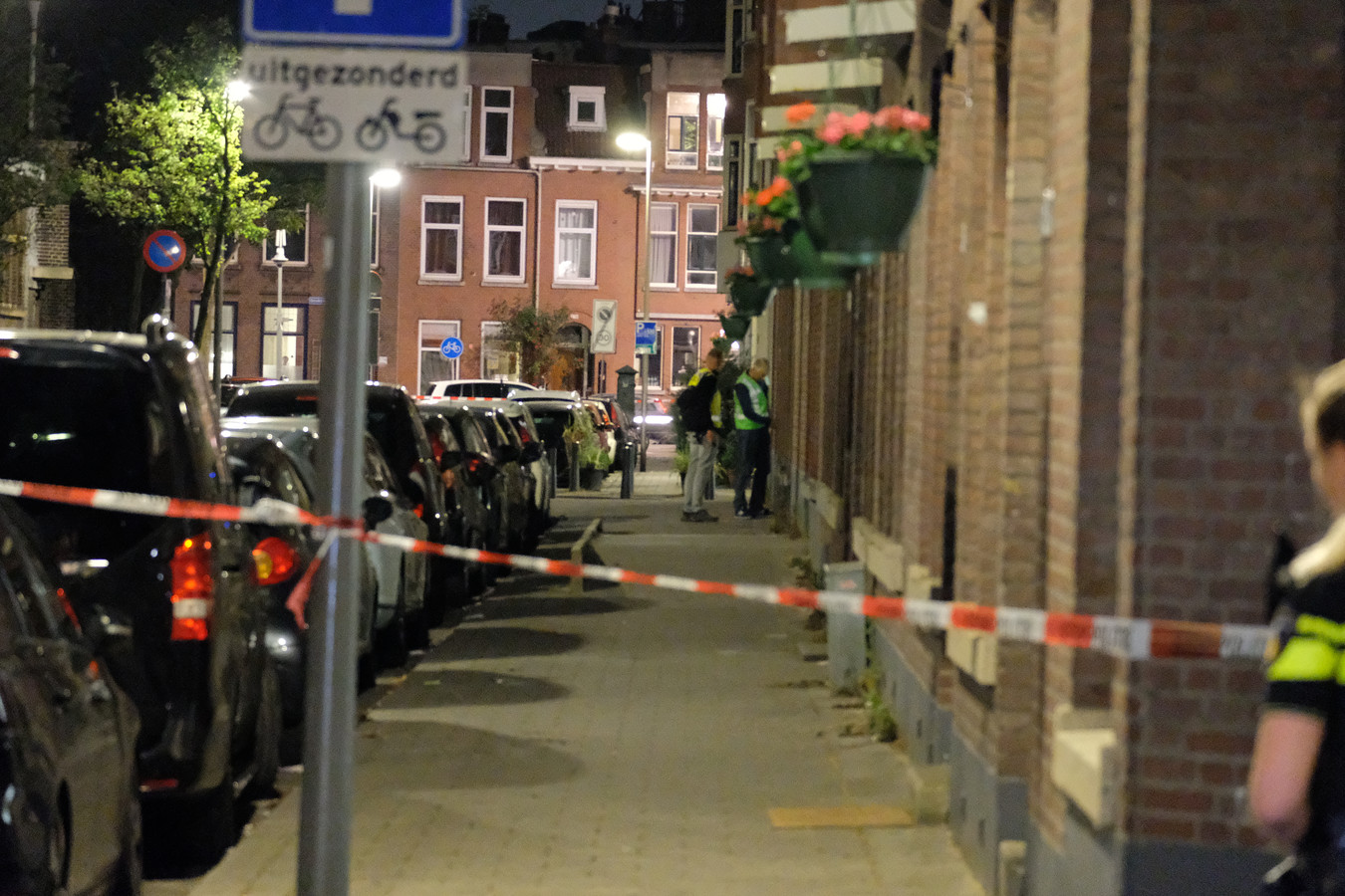 'Loos alarm' stelt het Team Explosieven Verkenning na een inspectie van het verdachte pakketje.