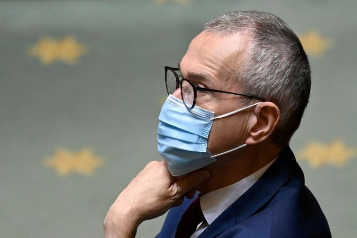 Frank Vandenbroucke, ministre de la Santé (Vooruit).