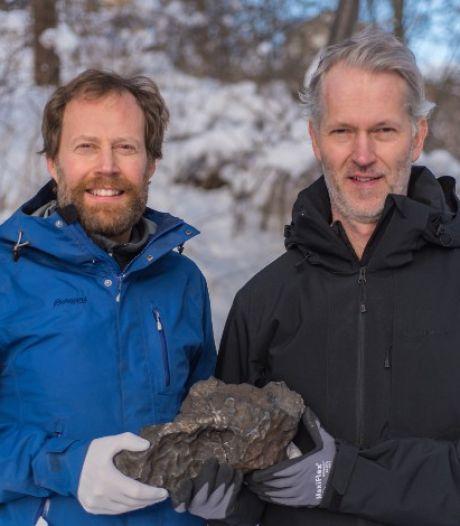 Zweedse geologen vinden meteoriet van 14 kilo: 'Uniek object'