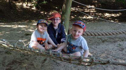 Kinderen kunnen weer ravotten in de speeltuinen van het provinciedomein in Kessel-Lo