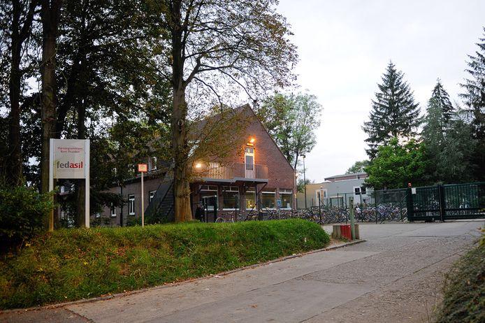 Het asielcentrum in Sint-Truiden.