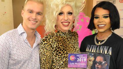 Dove dragqueen verkozen tot meest LGBT+ vriendelijke mediapersoonlijkheid 2019