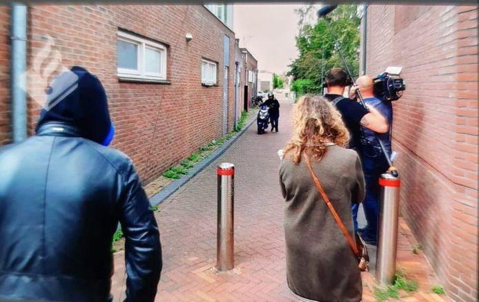 Opnamen voor Opsporing Verzocht in Veenendaal.