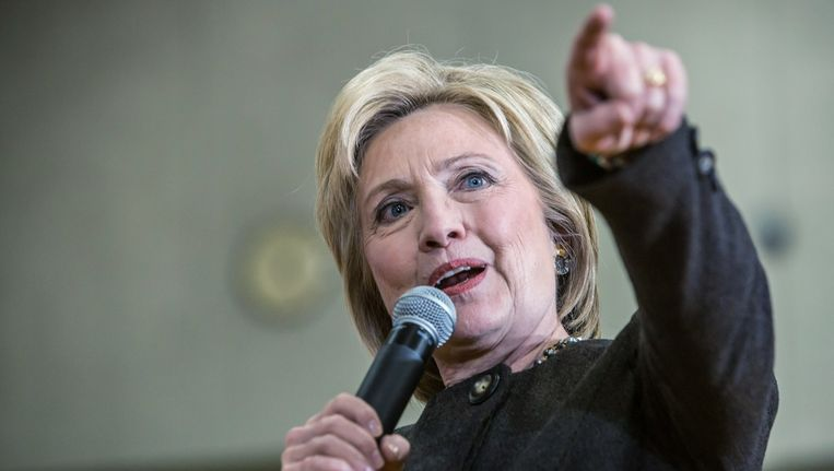 Hillary Clinton. Beeld anp