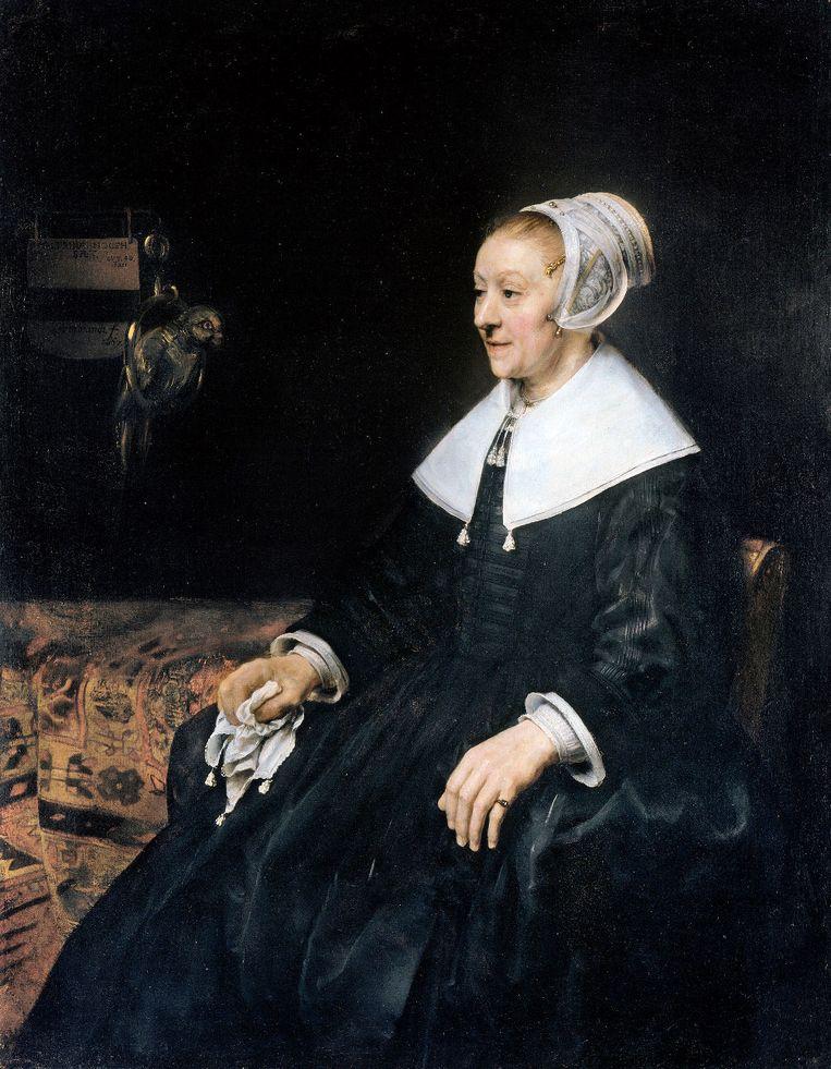 Britse kunstkenners zien 'Catrina' als een van Rembrandts beste portretten. Beeld rv