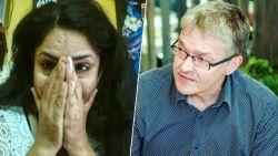 Het ontroerende moment waarop stewardess Nidhi voor het eerst de man ontmoet die haar hielp na aanslag Zaventem