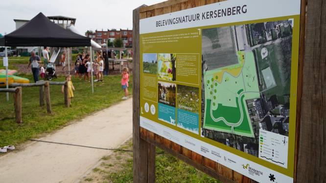 Avontuurlijk park- en speelbos Kersenberg geopend: kinderen kunnen ravotten in het groen