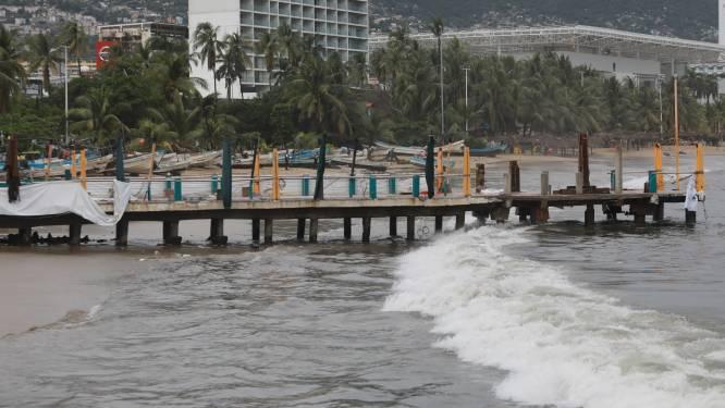Acapulco frappée par l'ouragan Rick