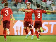 La Suisse l'emporte et inflige un zéro pointé à la Turquie