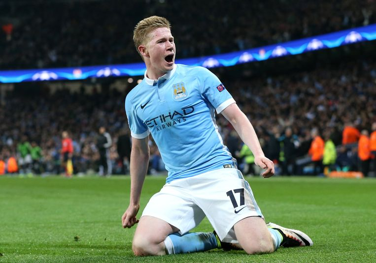 Kevin De Bruyne werd kampioen met Manchester City. Beeld Photo News