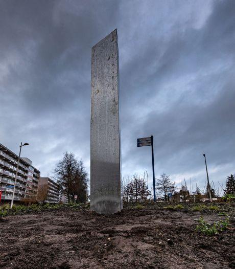 Mysterieuze monoliet duikt op in Kampen (en de 'daders' zijn betrapt!)
