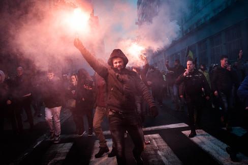 Foto van De rellen na de 'Mars tegen Marrakech' in beeld