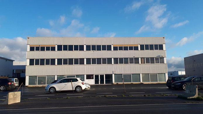 De leegstaande site van Crea Industrial Printing