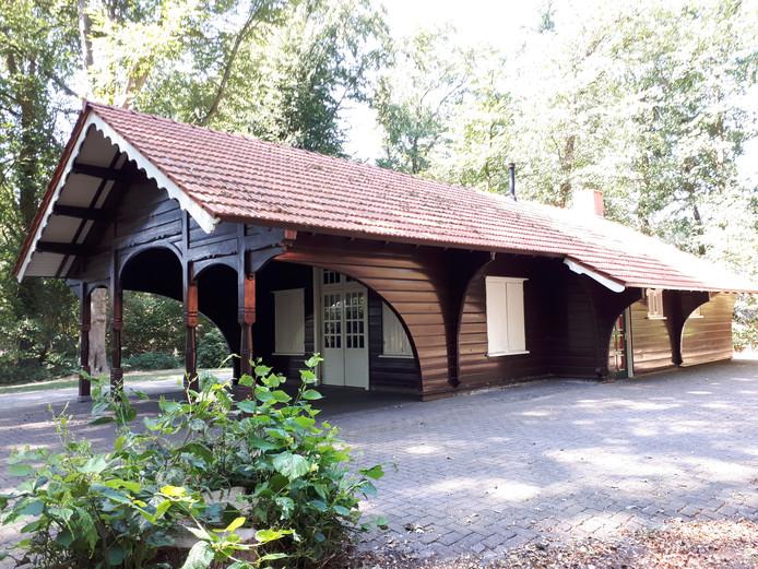 Het clubhuis van de Hengelose Gehandicapten Ontspannings Vereniging De Samenloop aan het Bartelinkslaantje.
