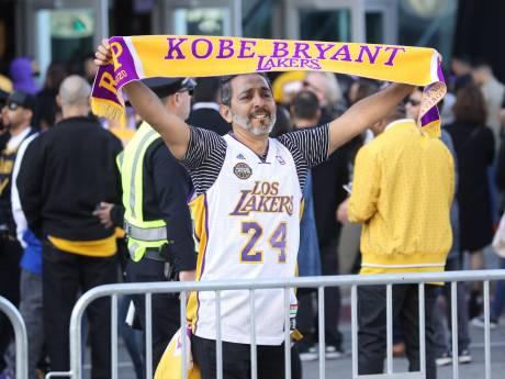 Indrukwekkend eerbetoon aan Kobe Bryant en dochter Gianna in LA